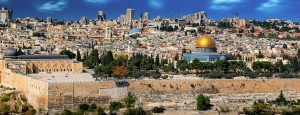 Die Altstadt von Jerusalem; Bildrechte: Creative Commons CCO