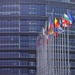 Das Bild zeigt das Parlamentsgebäude in Straßburg