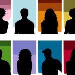 Bild zeigt Silhouetten von Menschen